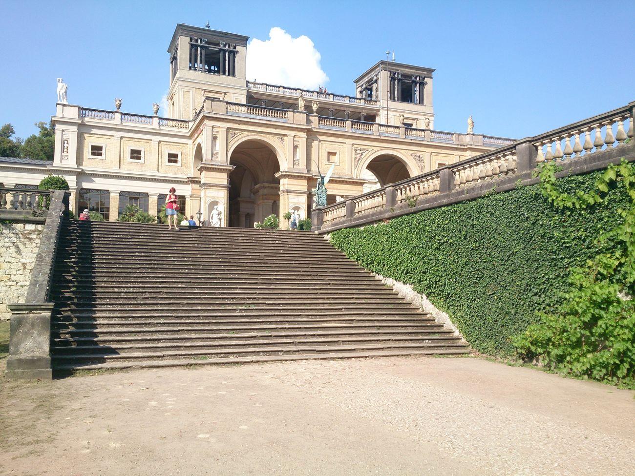 El Palacio De Invernadero De Naranjos en la Ciudad De Potsdam en Alemania