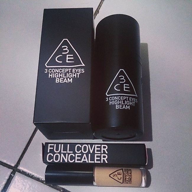 None will believe if I say I got each only for IDR 17k. Lucky 3concepteyes 3ce Stylenanda makeupaddict