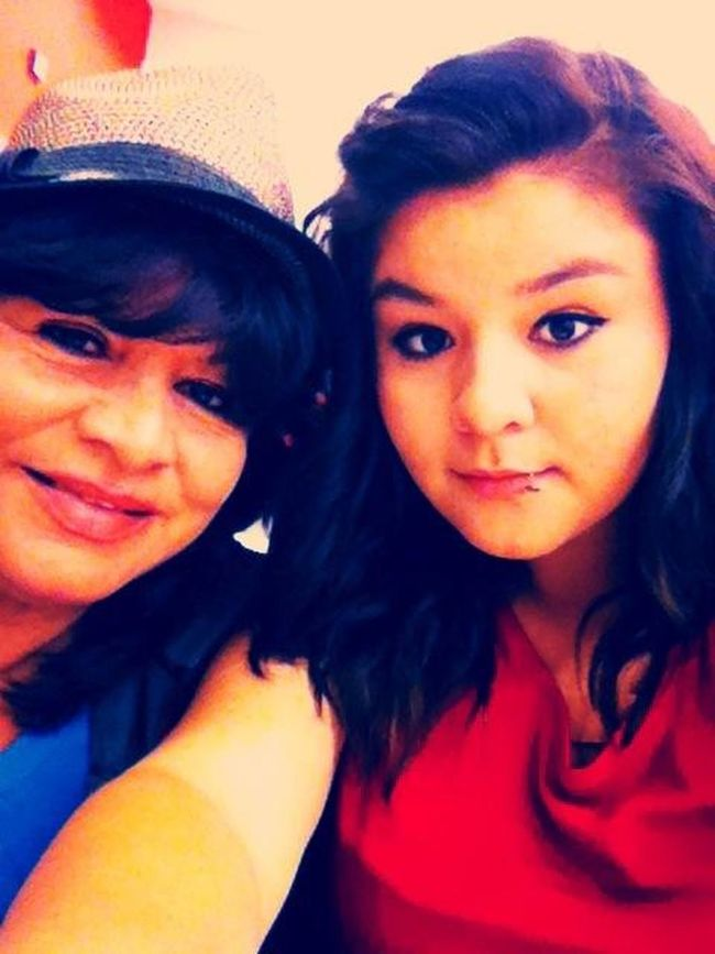 Me and the mom :3