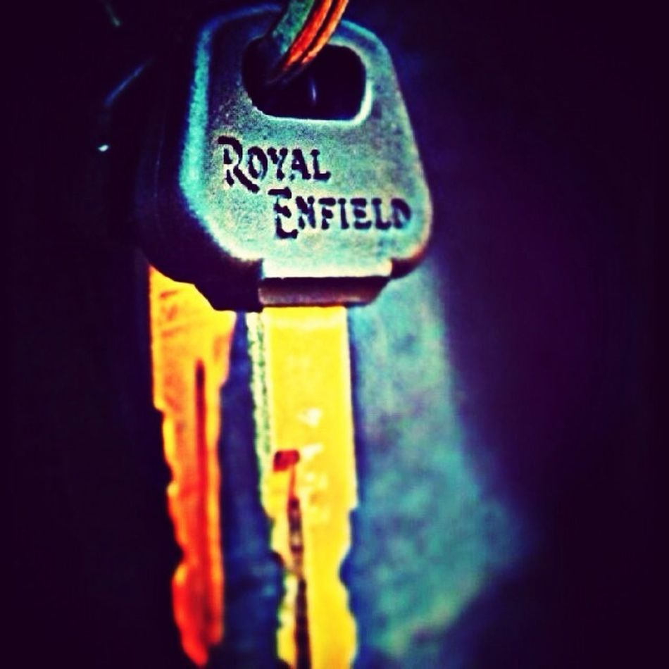 My Bike Key Royal Enfield Check This Out Light And Shadow