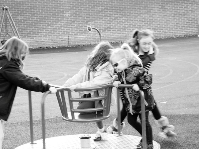 Friendship Togetherness Girls Red Outdoors Smiling Child People Day Childhood Happiness Cheerful Bonding Blond Hair Sitting Sisters ❤