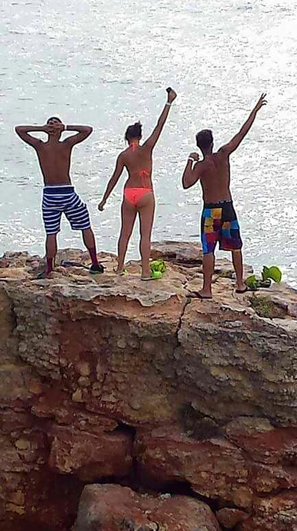Summer Fun ☀️ Feel The Journey Climbing Cliff Cliff Climbing Adventure Buddies