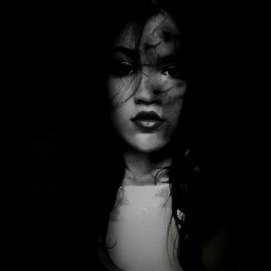Molly Shadow Fear Black Girl Nikon Parededevidro