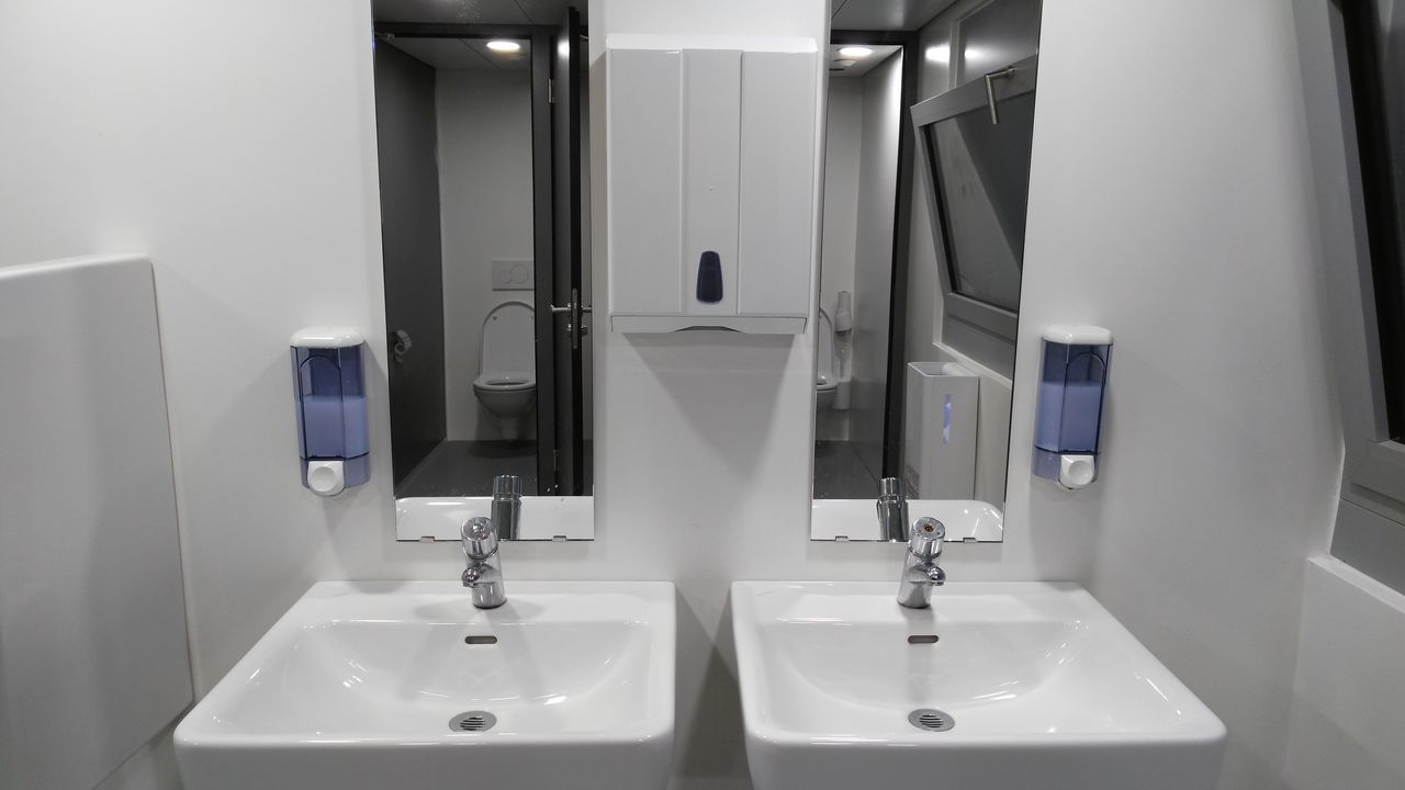 Bathroom sink and tap water Toilet Wash Hands Water Bathroom Sinks Hygene Clean