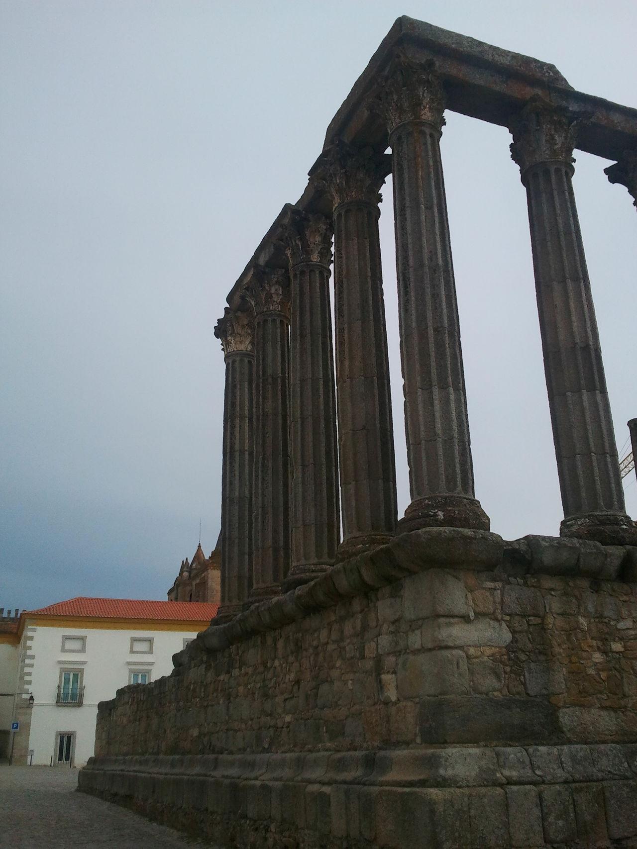 Templodediana Dianatemple Temple Romantemple Ancient Architecture Ancient Ancient Civilization Ancient Ruins Ancient Culture Ancientart Roman Evora, Portugal Évora