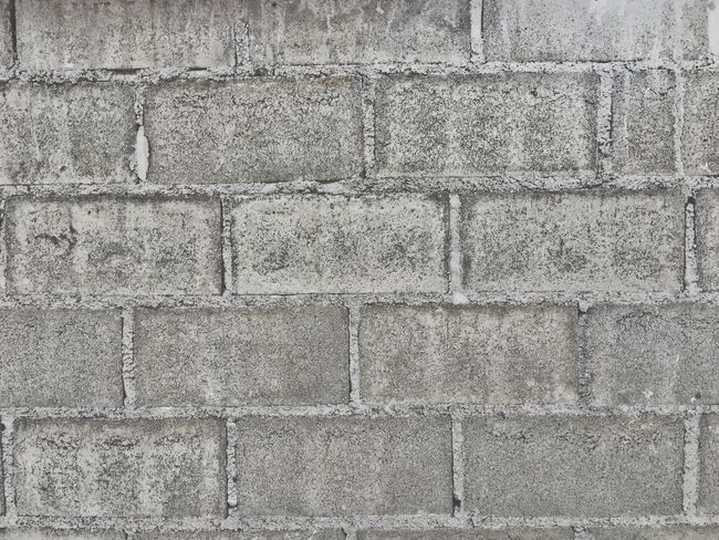 Wall - Building Feature Built Structure Textured  Architecture Backgrounds Full Frame Outdoors Building Exterior Gray Rough No People Pattern Day Close-up Block Cement cement blocks wall texture background