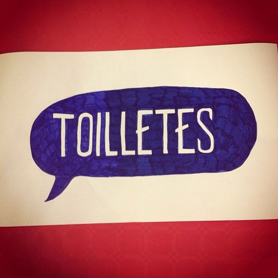 Mis-spelt toilets sign I made for a friend's wedding Typography Type Lettering Handdrawntype