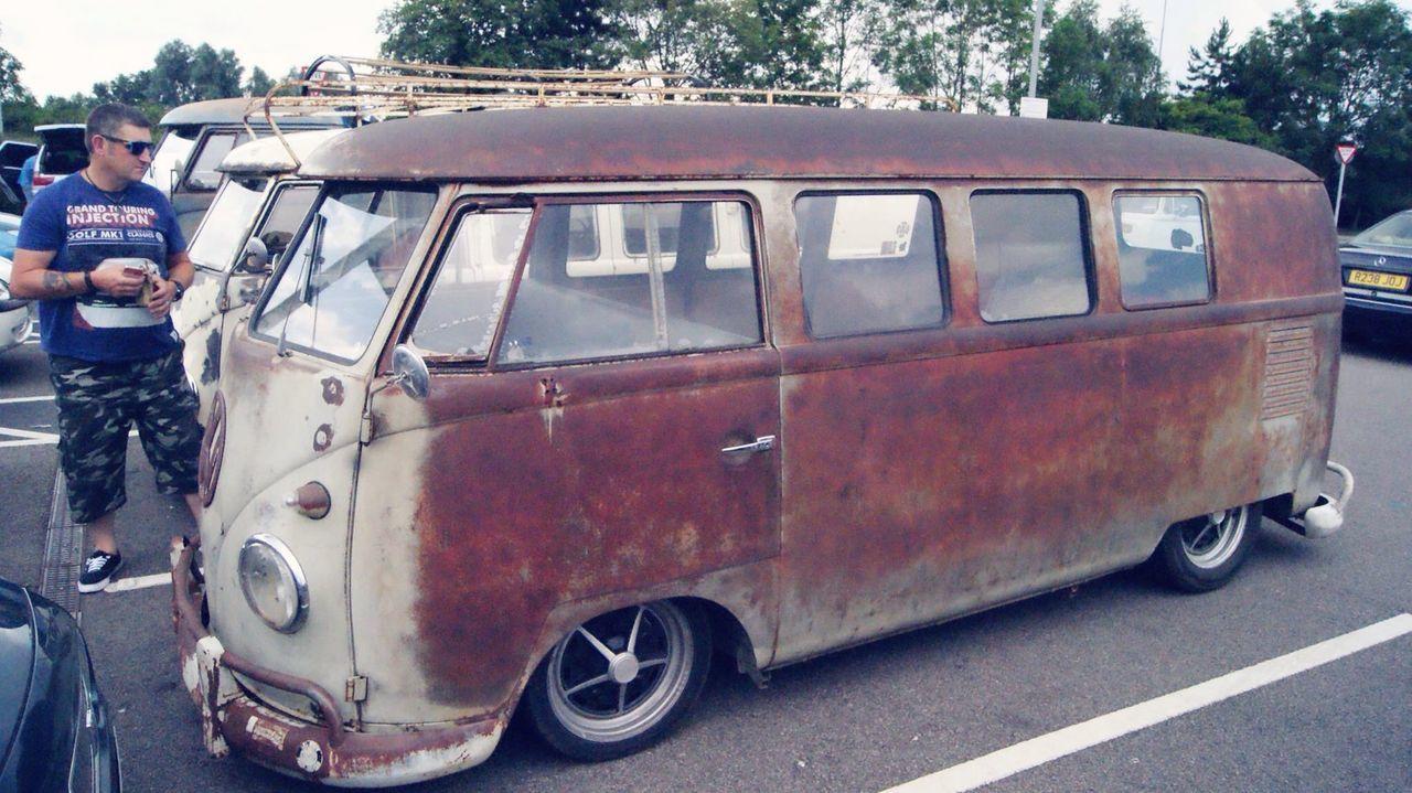 Transportation Outdoors Vw Camper Van VW Bus Rusty Ruster Land Vehicle Bay Bugjam Bugjam30