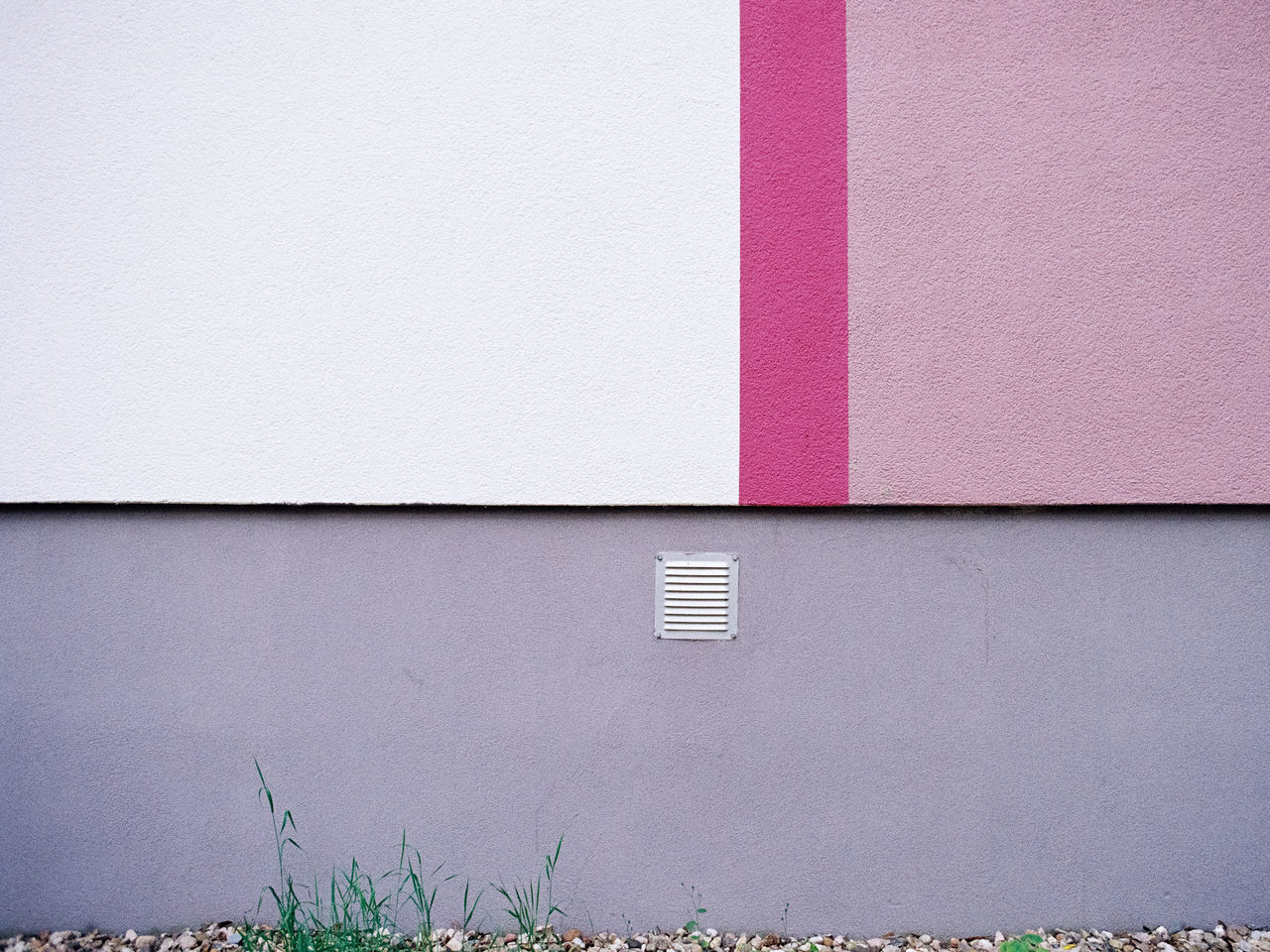 Exterior Of Purple Wall