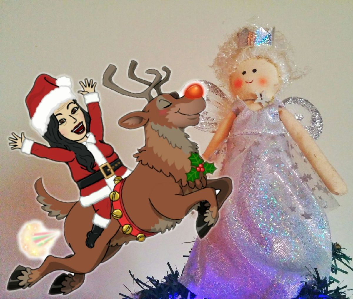 🎅🎁MERRY CHRISTMAS MY FRIENDS🎅🎁 Bitmoji Series On EE Merry 😄 Christmas🎁🎅 Santas Nice List🎅🎁😄👍 Ho Ho Ho🎅 Naughty Santa🎅 Lmfao😄👍 Those Tags Tho😂 Reindeer❤️❤️