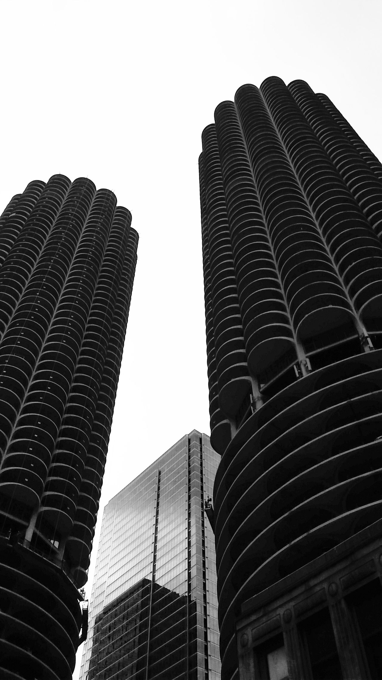 Architecture Black & White Black And White Building Exterior Buildings Built Structure City City Cityscape Clear Sky Contrast Day Low Angle View Modern Monochrome No People Office Block Outdoors Sky Skyscraper Structure Tower Urban Skyline