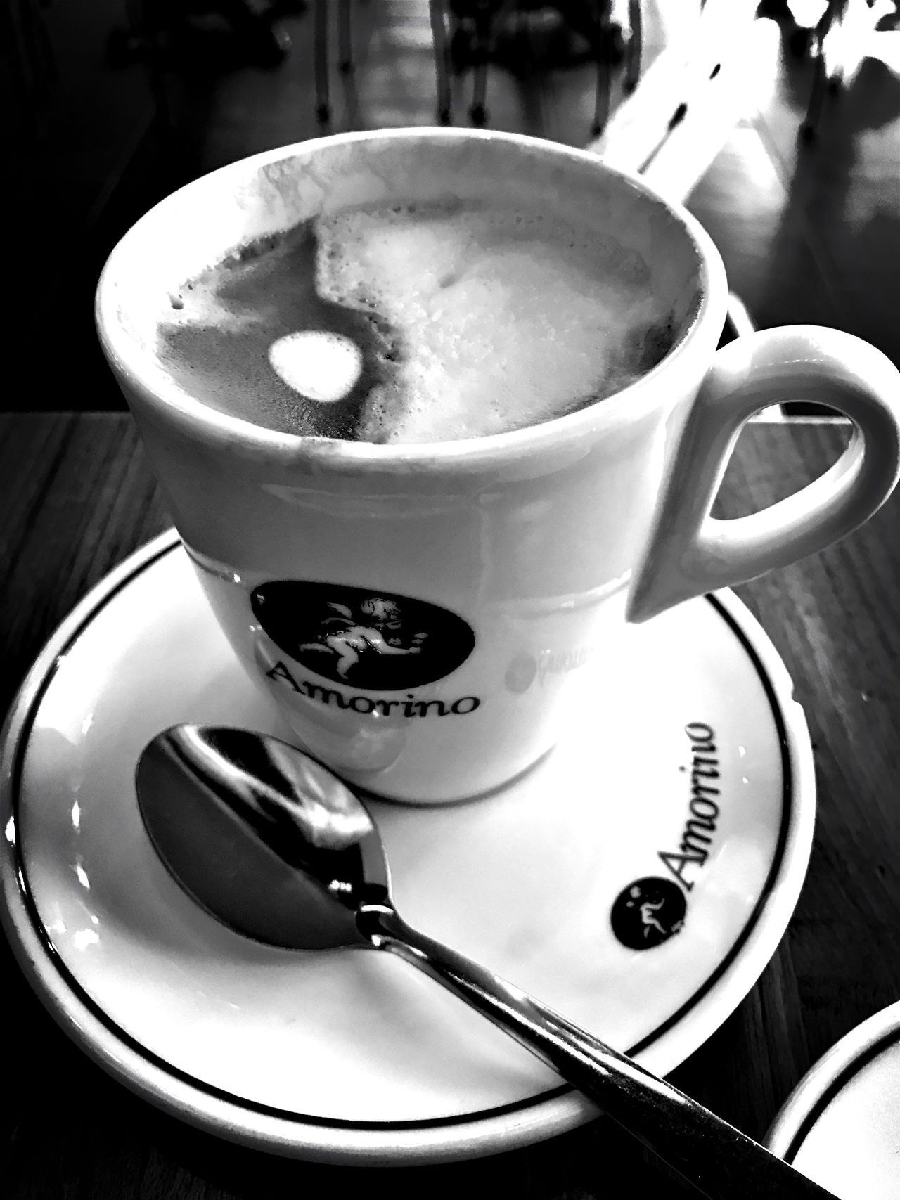 Coffee - Drink Coffee Cup Food And Drink Table Drink Spoon Close-up Refreshment No People Freshness Plate Indoors  Frothy Drink Day