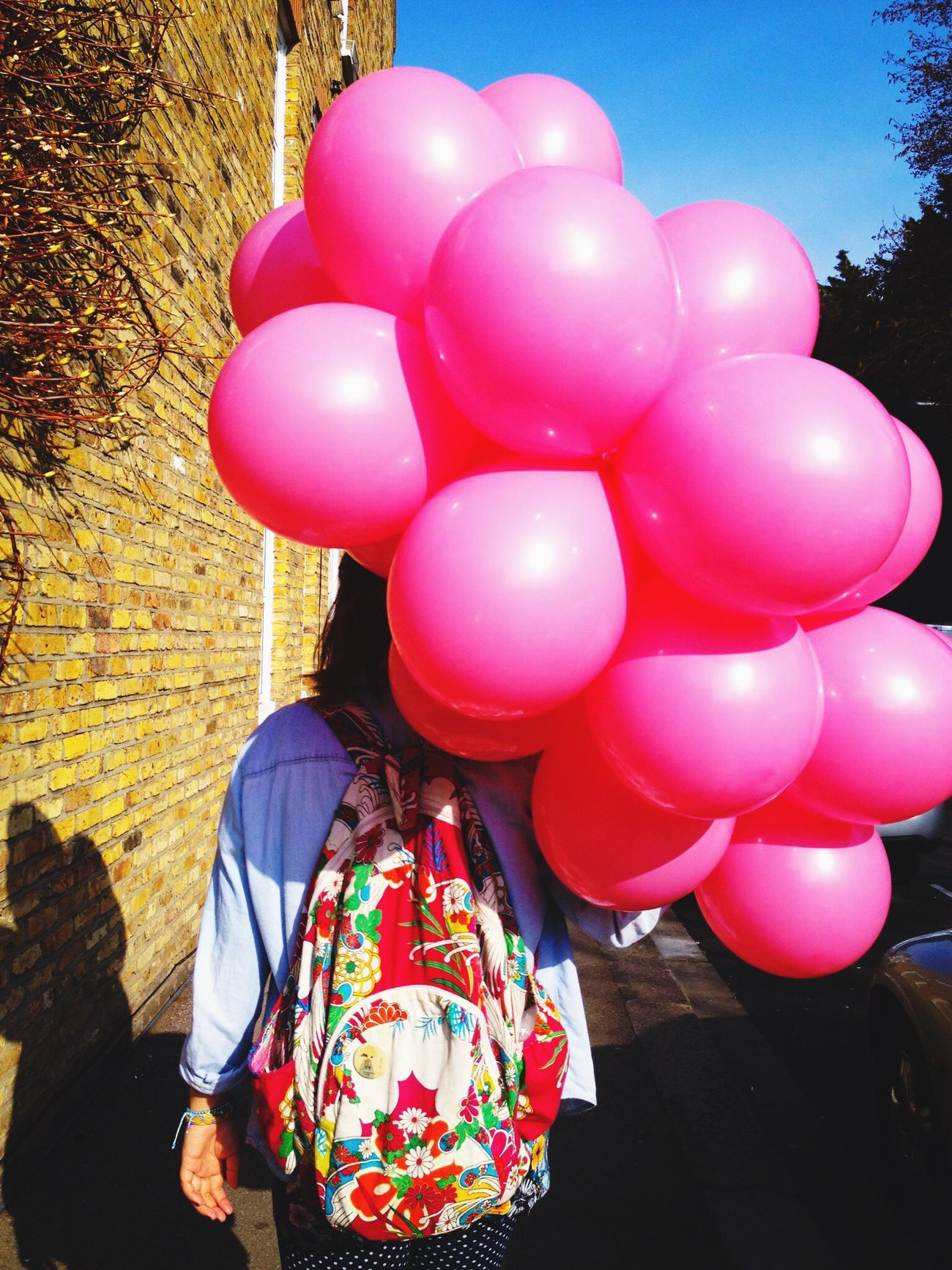 Millennial Pink Pink Pink Color Pink Ballon Balloon Balloons Walk Walking Around Walking Spring Springtime Spring Has Arrived Sunny Sunny Day Sunnyday Sunny Afternoon Colors Colorful Colour Of Life Colourful Colours Color Color Photography Colour