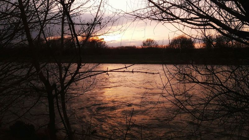 Sunset Nature Sky Water Scenics Beauty In Nature Naturescenery River