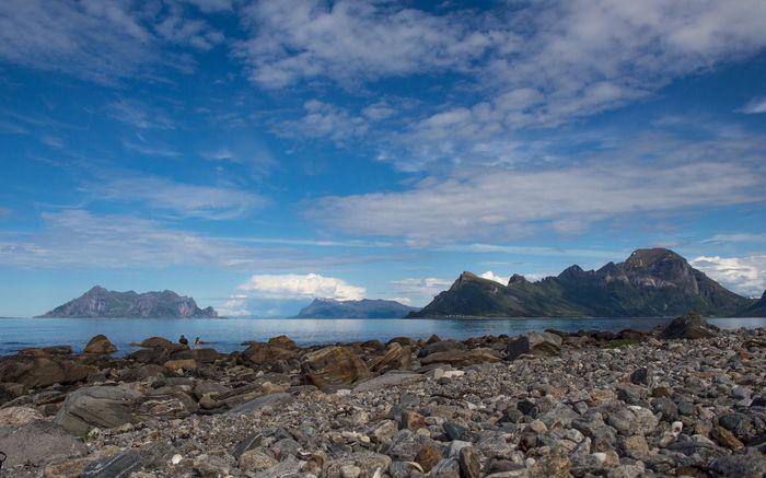 Norwegian Landscape Landscape Photography Nature Sea Seaside Mountains Coast