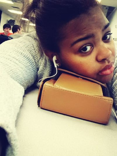 in 5th today. so bored Georgeee behind me