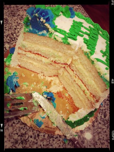 This is my ginormous cake!
