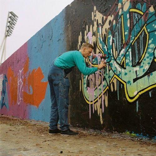 Living Bold Bold 120mm Analog Analogue Photography Streetart Graffiti Berlin Germany Youth