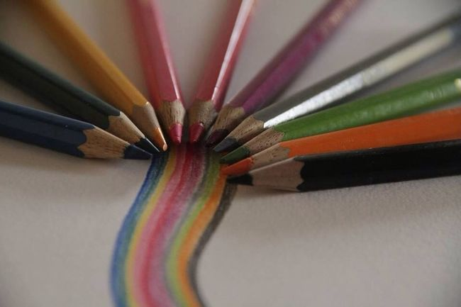 Colors Pencil Drawing The EyeEm Facebook Cover Challenge