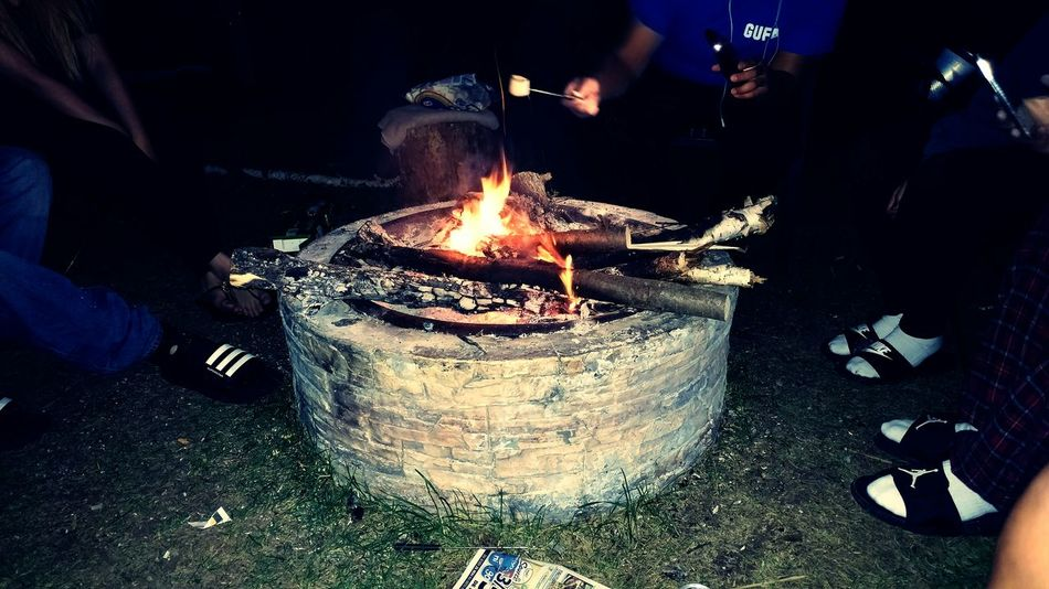 Bonfire 🔥 Hanging Out Getaway  Bonfire Quality Time Mashmallow Cottage Amazing People