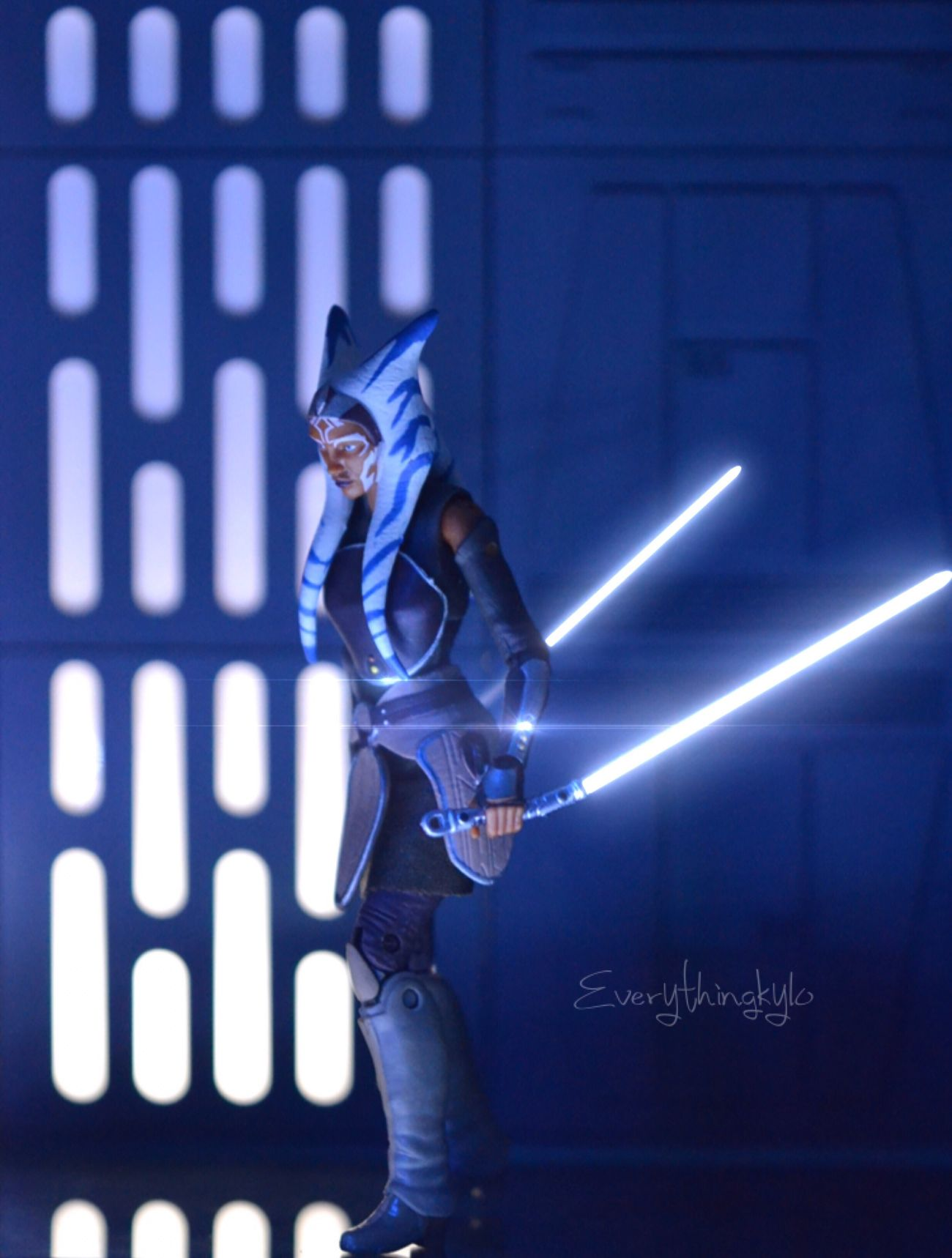 """Despite what you hear, i'm still a Jedi""⚪️⚪️⚪️⚪️⚪️⚪️⚪️⚪️ Ahsokatano Snips Blackseries SkyGuy Starwarsrebels Starwarsblackseries Toyphotography Starwarsfan Starwars"