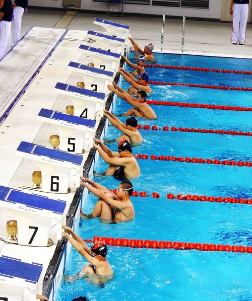 Swiming People Watching Swimming Pool Son Sports Photography Capture The Moment Sport