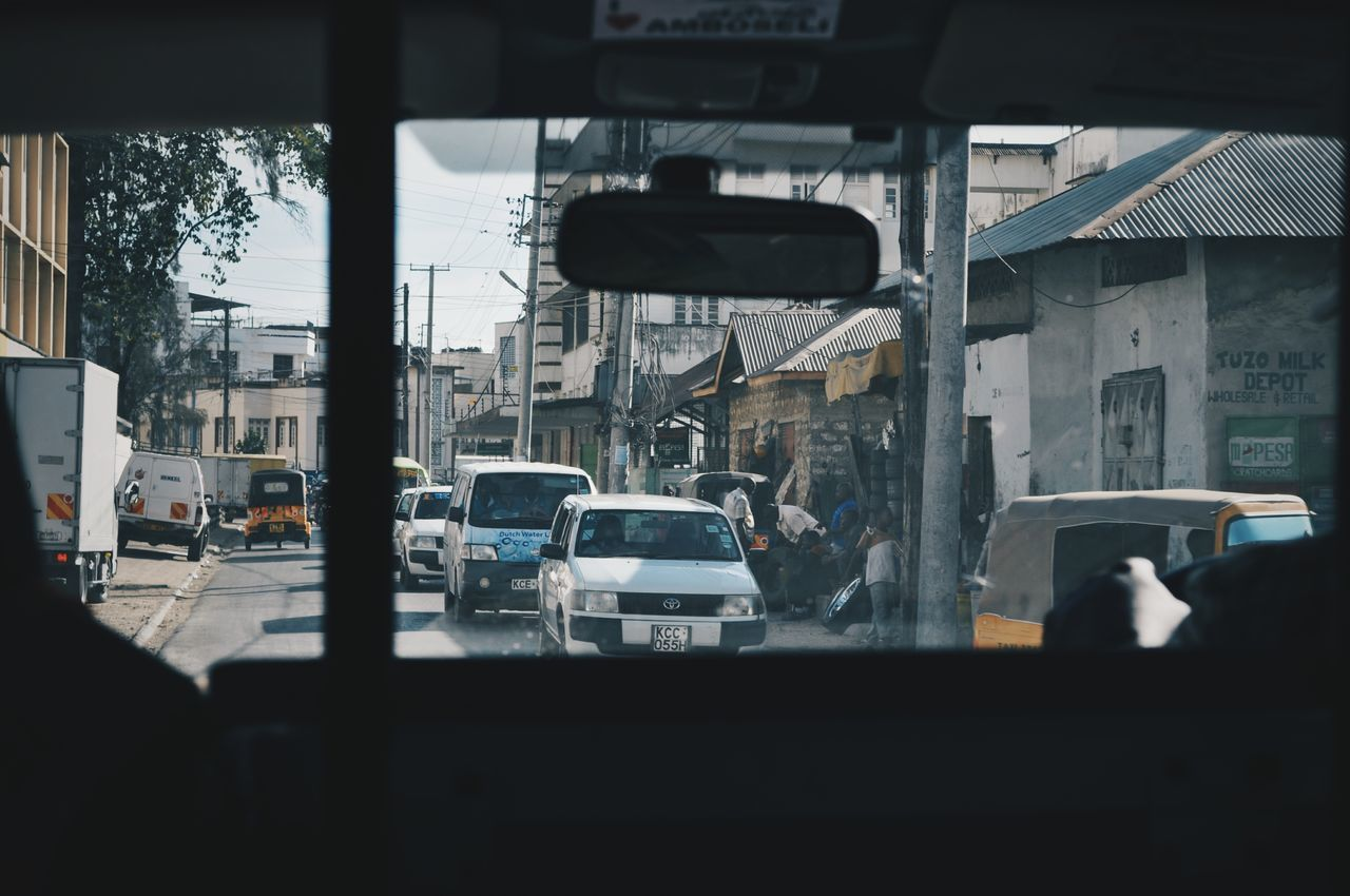 Mombasa, Kenya. Car Driving Street Life Streetphotography Travel Destinations EyeEm Best Shots VSCO Travel Africa EyeEm Best Edits Adventure Kenya Mombasa Cityscape City Outdoors