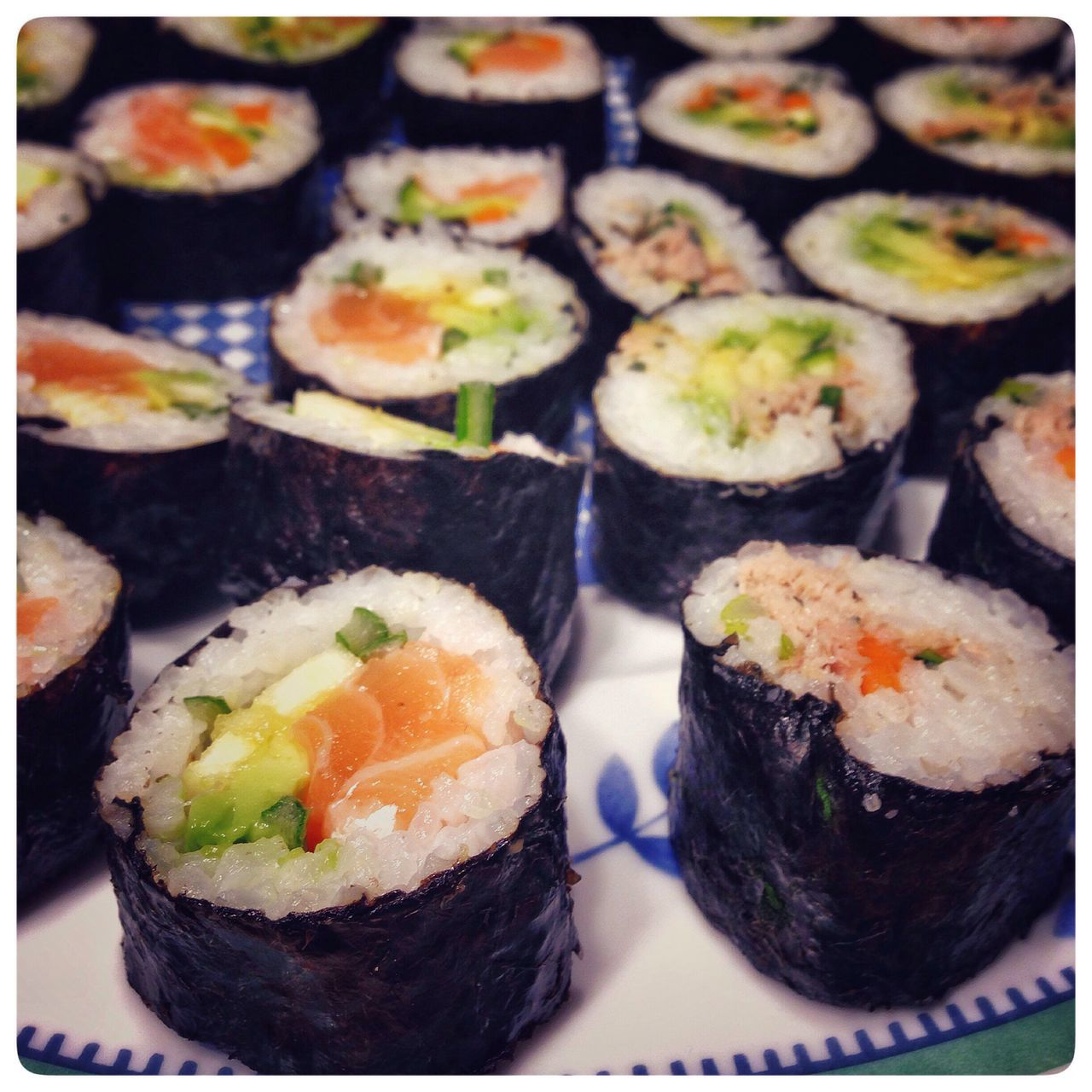Selfmade sushi Sushi Selfmade DIY Sushilove Sushilover Home Is Where The Art Is Colour Of Life Visual Feast
