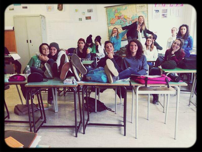 La classe più bella che c'èèè! <3 Amore FAMO Tanto  Insomma