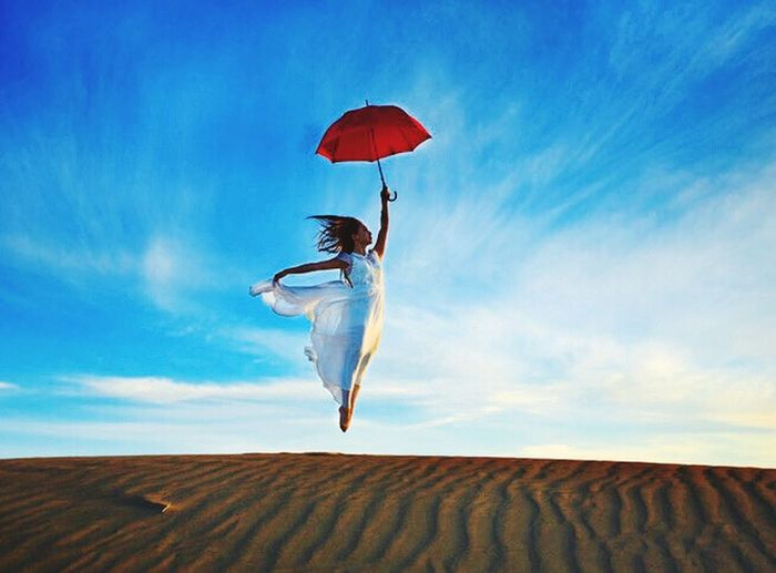 I Believe I Can Fly  Amazing View The Most Beautiful Quotes And Pics I Like Have A Nice Day♥ Blue Sky