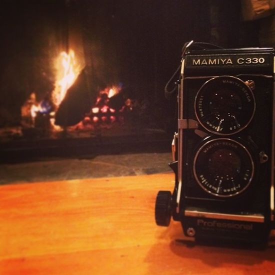 I almost love this camera as much as the person who gave it to me. Xmas Love Mamiya C330 camera film iminloveX2