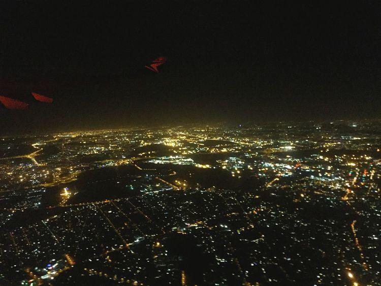 Planeview Johannesburg AtNight Cityskyview Skyview Traveling