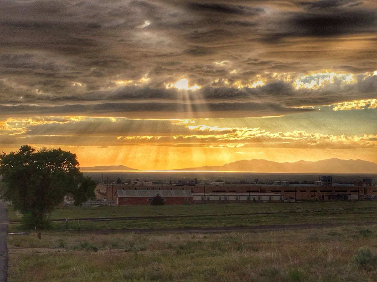 Just another Utah Sunset. Sunset_collection Sunset Sunflare Landscape_photography Landscape_Collection Landscape Utah The Great Outdoors - 2016 EyeEm Awards Lanscape Photography Hill AFB