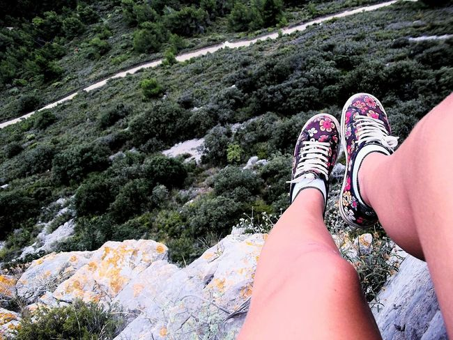 Ready To Go Adventure Avventura New Shoes New Experiences Travel Esperienze Foot Legs Three Alberi Vegetation Montains    Montagna Mountain View Front View Looking Down High Flowers Freedom Peace And Quiet Silence EyeEm Best Shots EyeEm Nature Lover Two Is Better Than One