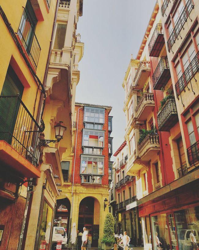 CaminodeSantiago Logroño Journey Street Travel Colorfull Walking