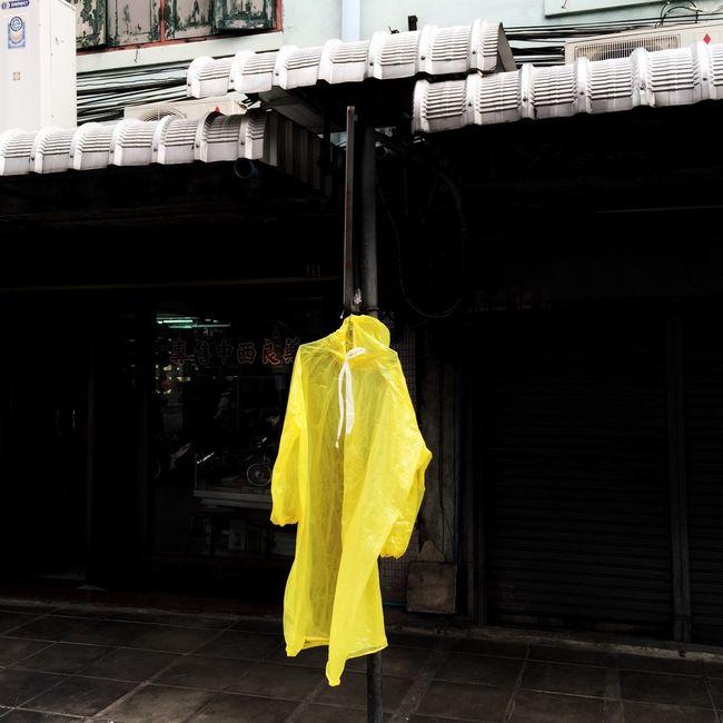Yellow Raincoat Rainy Days