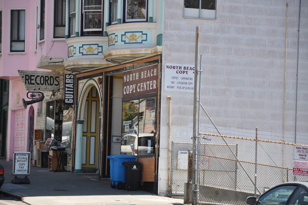 Building Cali California City Color Day Outdoors Recording Records San Francisco Shopping Text Travel