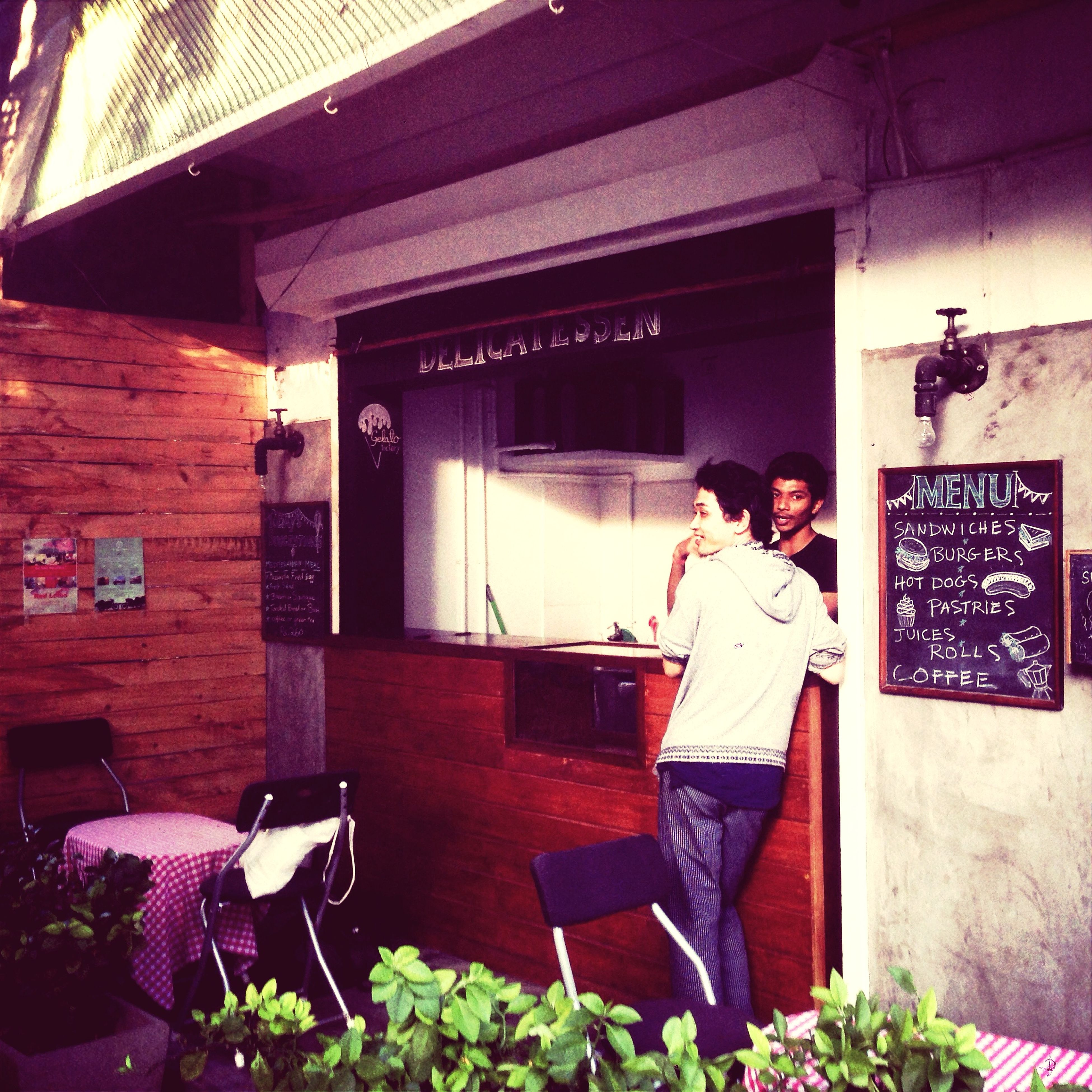 buger shop in pondichrry. Pondichrry Indiacafe