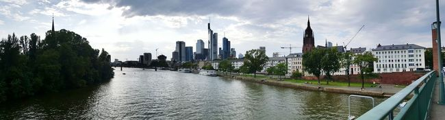 Cloud - Sky Germany🇩🇪 Frankfurt Am Main Hanging Out Watching The Sunset Taking Photos Panoramicview