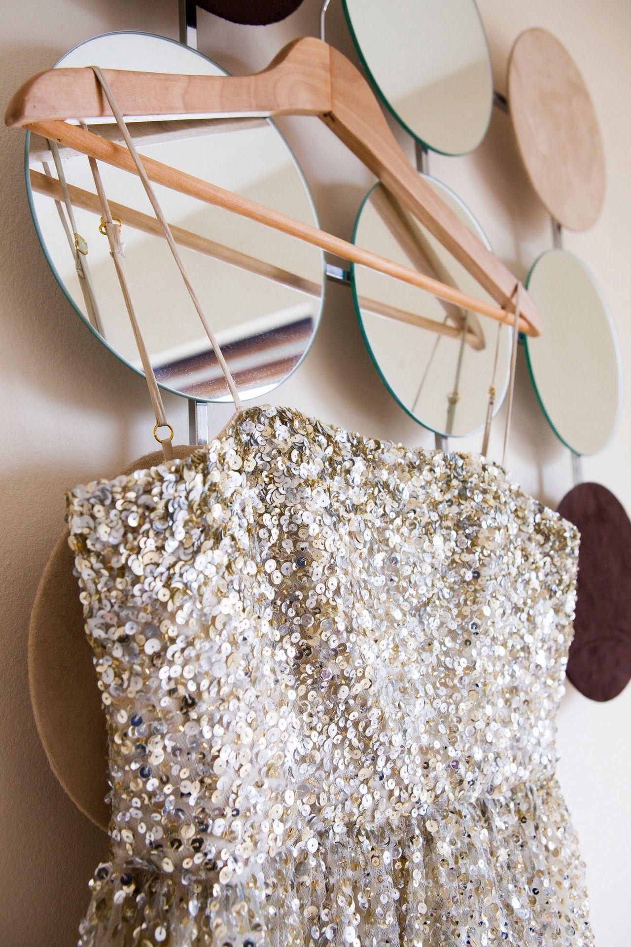 Sparkles Sequins Dress Mirror