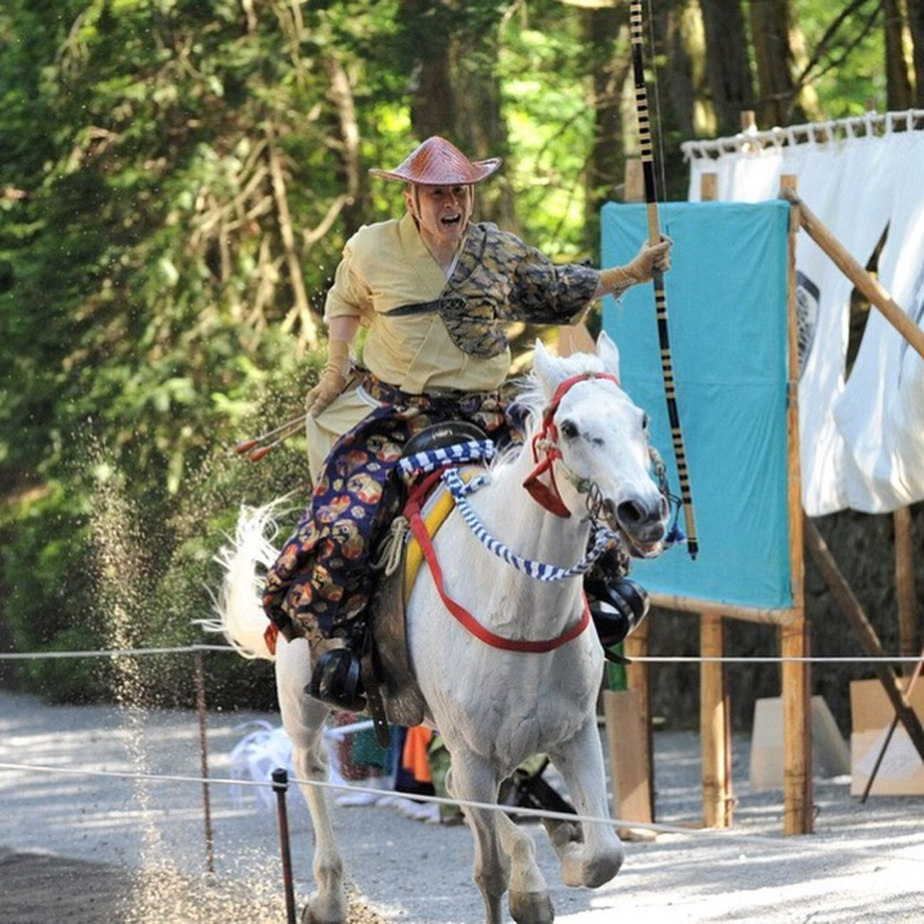 Yabusame Tochigi Nikko Toshogu Shrine Martialarts Japanese Festival Cool Japan Tradition