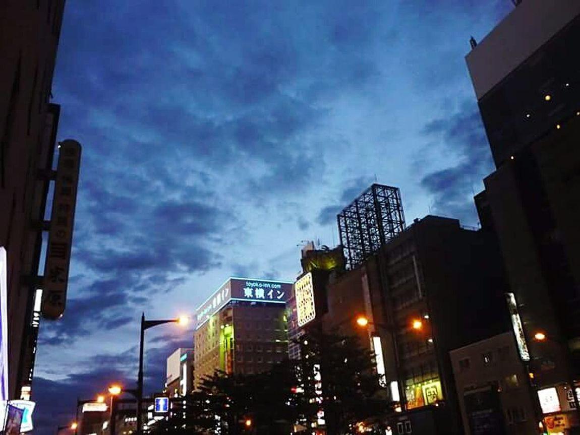 Throwback Evening Sky Taking Photos Vacation 2014 Japan 2014 Schooltrip Hokaido Exchange Student Samsungphotography Samsung Ace Japan