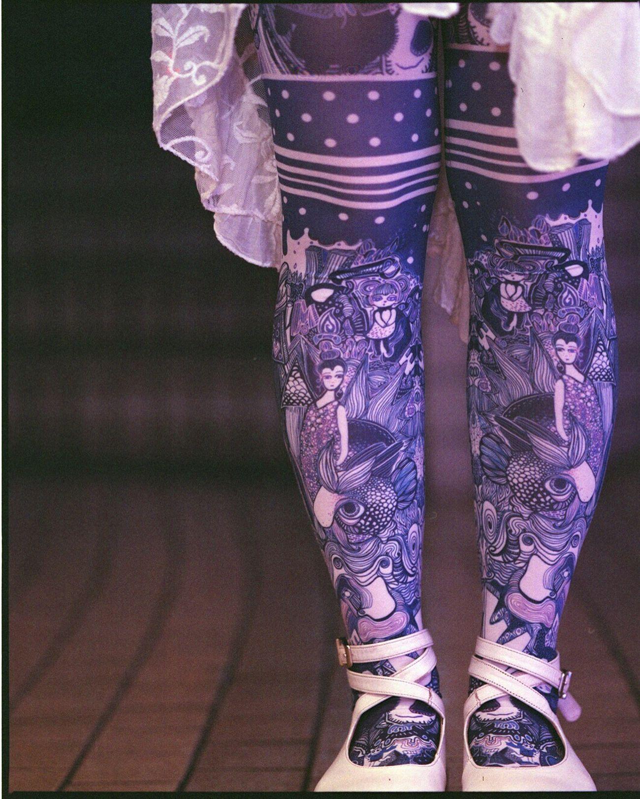ぽこあぽこスタッフスナップ http://bit.ly/25bRsu2 #ぽこあぽこ #タイツ #tights #shibuya109
