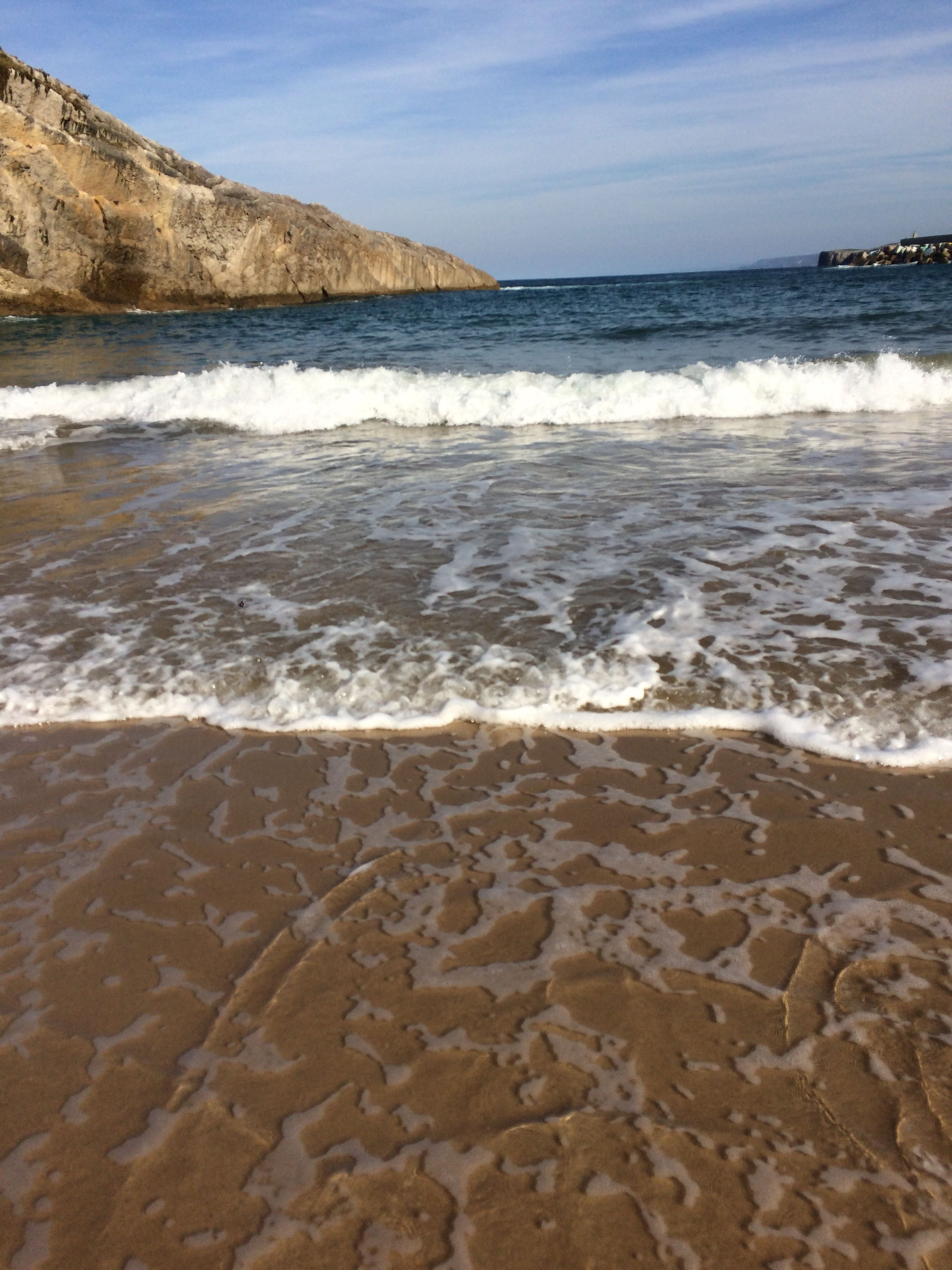 sea, nature, beauty in nature, scenics, water, beach, sky, tranquility, outdoors, tranquil scene, sand, no people, wave, day, travel destinations, horizon over water