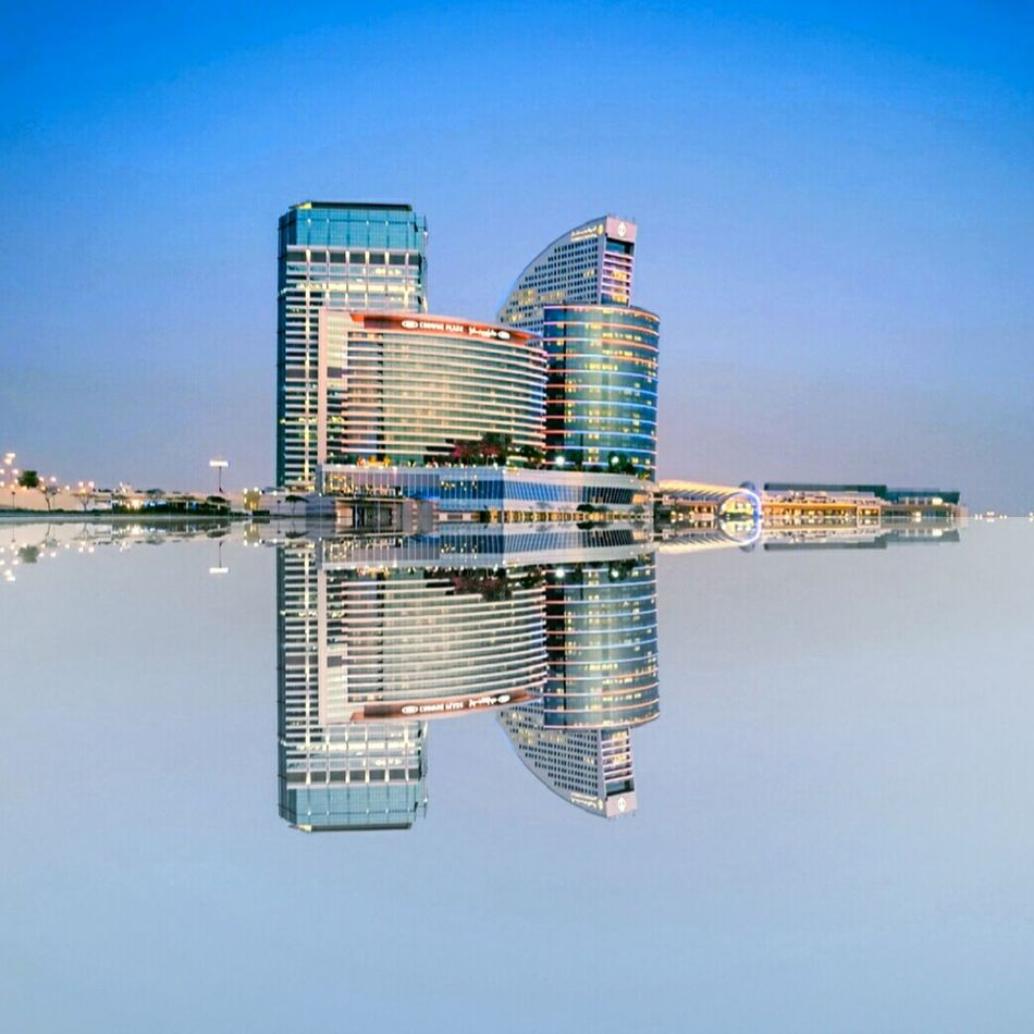 Water Technology clear sky Sky Data Communication No People Connection Outdoors Day Reflection Water Reflections Building Business Bay, Dubai Business Bay Direction Clear Sky Corporate Business Internet Big Data