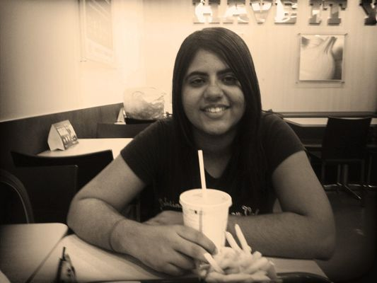 Hanging out at Burger King by Tajinder Kaur