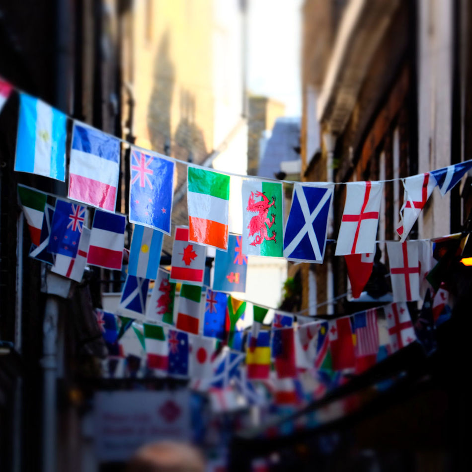 Decoration Depth Of Field Flags Of The World Hanging Order Rugby World Cup 2015 Selective Focus Variation ınternational