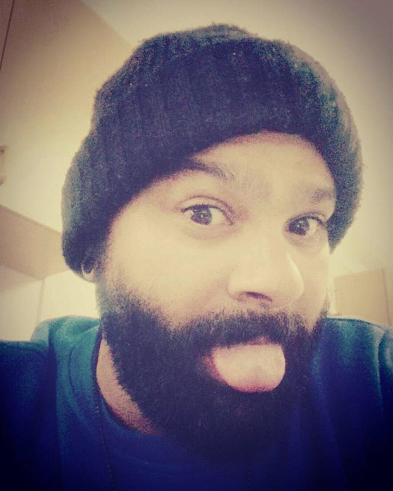 IntheCY Boredatwork Beardedthug Beardgang Beardlove Beardlife Beardlifestyle Yeard 3MonthsOld Pogonophilenation Ladieslovethebeard Tongueout Beanie Craycray