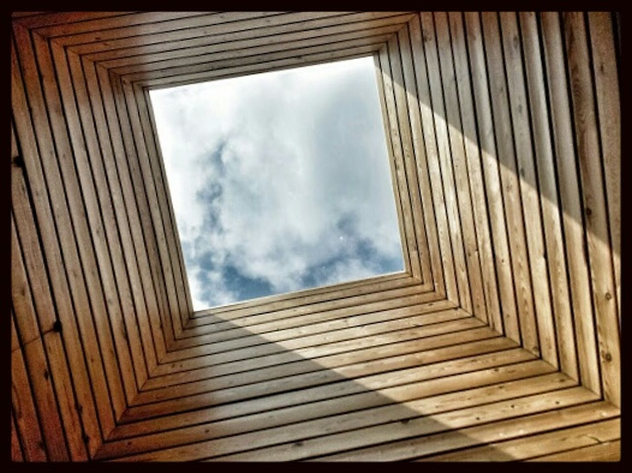 Geometric Abstraction Watch The Skies Gates To Heaven  Sky_collection