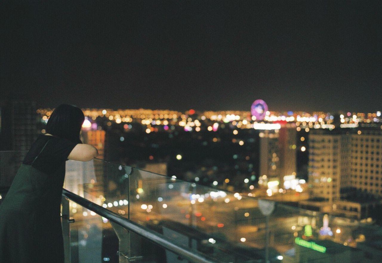 35mm Film Filmisnotdead Film Photography Filmcamera Film Night Illuminated Architecture City